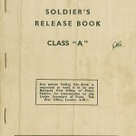 Soldier's Release Book - Front Page